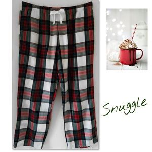 Victoria's Secret Plaid Cotton Pajama Dorm Pant